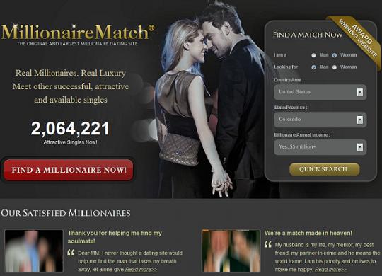Read review of Millionairematch.com