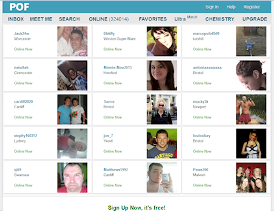 image: plentyoffish site