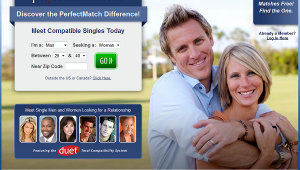 Perfectmatch homepage